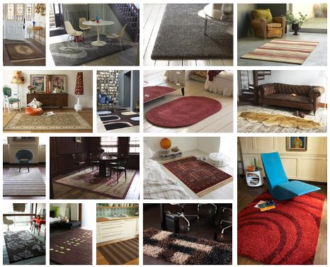 selection of rugs from the plantation rug company